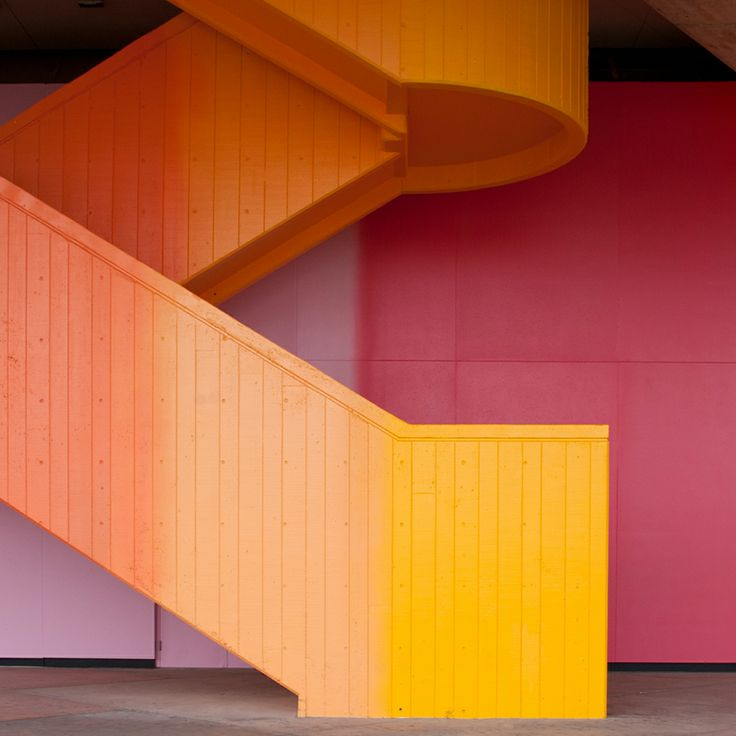 staircase by graphic Designer milton glaser